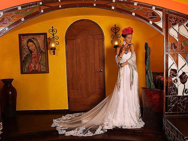 Анна Белкина Фрида Кало образ невесты__