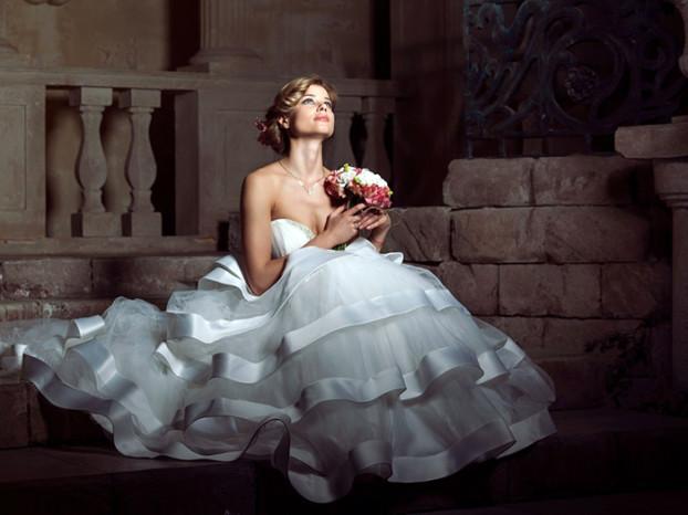 Анна Белкина образ невесты__