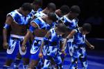 африканские гимнасты участники циркового фестиваля Идол