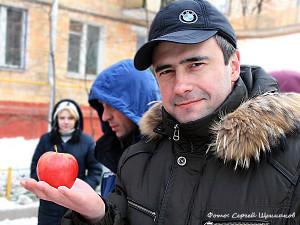 на съемках яблочек8
