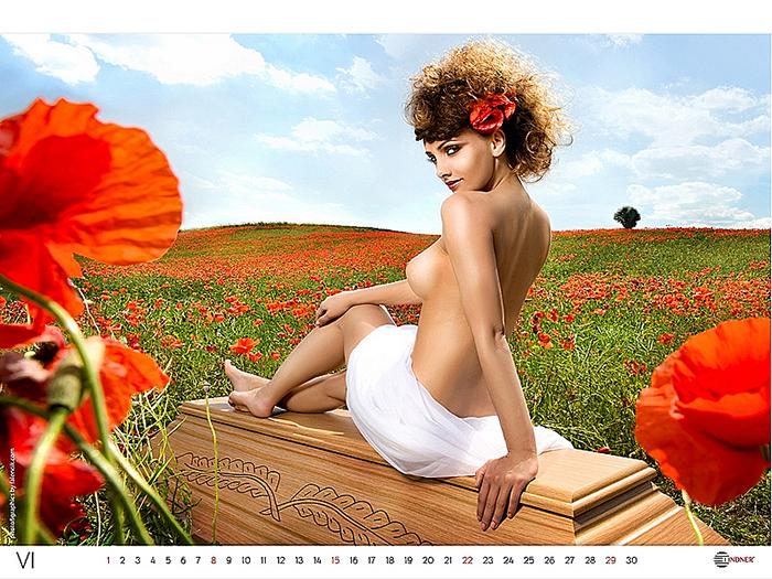 В пятом издания нашего календаря мы возвращаемся к природе, демонстри