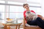анна белкина с котом
