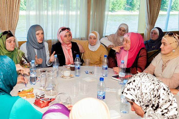 съезд мусульманских женщин