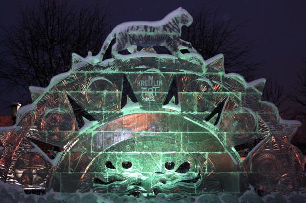 Лунин ледовый скульптор