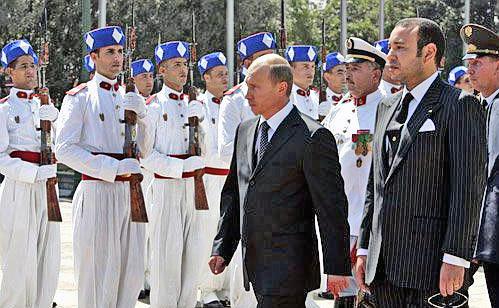Путин в Марокко