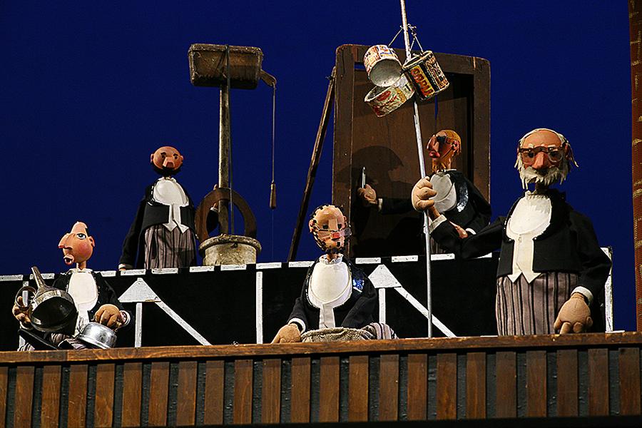 кукольный театр образцова оркестр