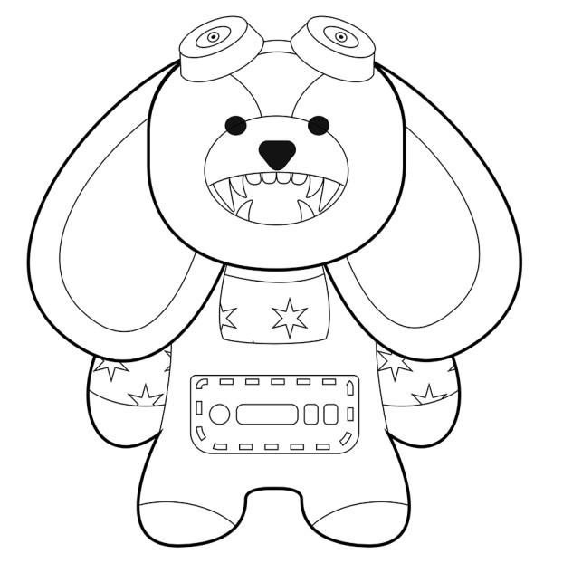 Раскраска_собака